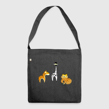 animals - Shoulder Bag made from recycled material