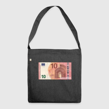 Euro bill / Euro / Euro bill - Shoulder Bag made from recycled material