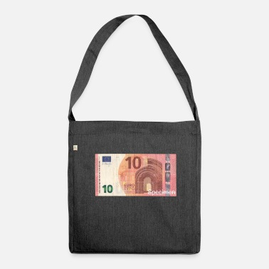 Euro Euro bill / Euro / Euro bill - Shoulder Bag made from recycled material