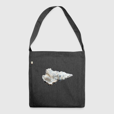 A shell that reminds of the holiday - Shoulder Bag made from recycled material