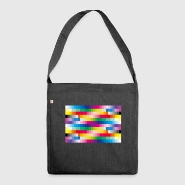 Colours - Shoulder Bag made from recycled material