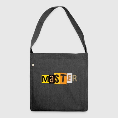 Master - Shoulder Bag made from recycled material