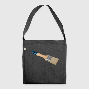 Pinsel - Schultertasche aus Recycling-Material