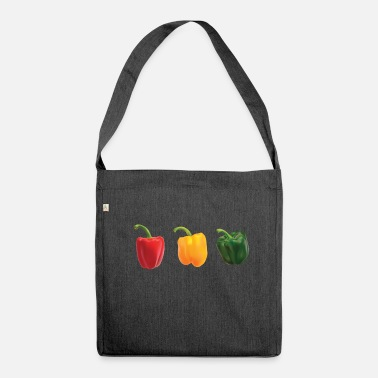 Paprika paprika - Shoulder Bag made from recycled material
