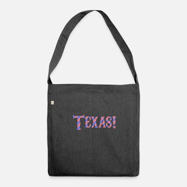 Texas Texas - Shoulder Bag made from recycled material