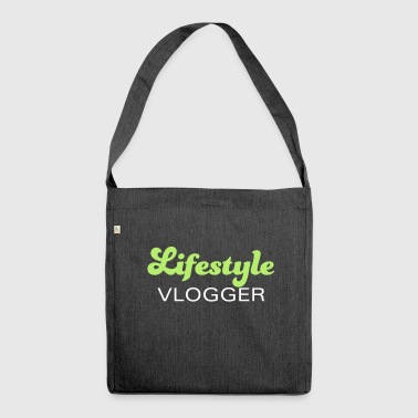 Lifestyle Vlogger - Shoulder Bag made from recycled material