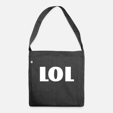 Lol lol - Shoulder Bag made from recycled material