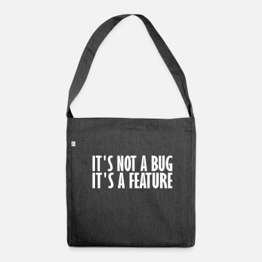 Bug è un bug - Borsa in materiale riciclato