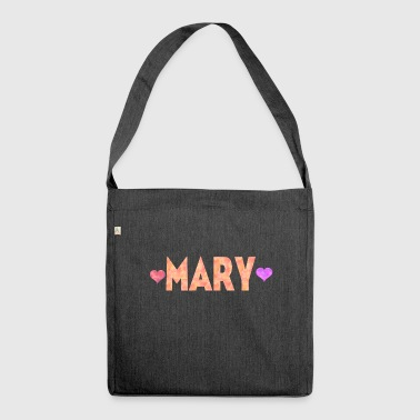 Mary - Shoulder Bag made from recycled material