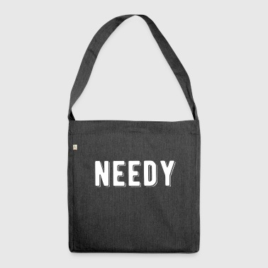 needy - Tinder - YouTube - Schultertasche aus Recycling-Material