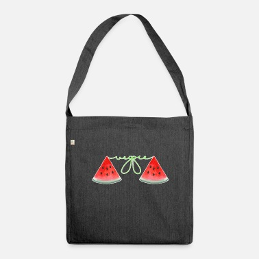 Watermelon Watermelon watermelon - Shoulder Bag made from recycled material