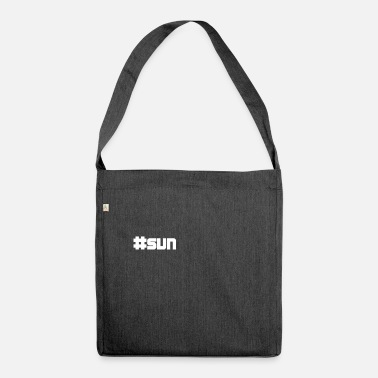 Sun sun sun - Shoulder Bag made from recycled material