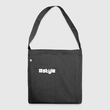style style - Schultertasche aus Recycling-Material
