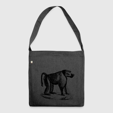 Chimpanzee Chimpanzee - Shoulder Bag made from recycled material