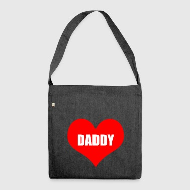 daddy - Schultertasche aus Recycling-Material
