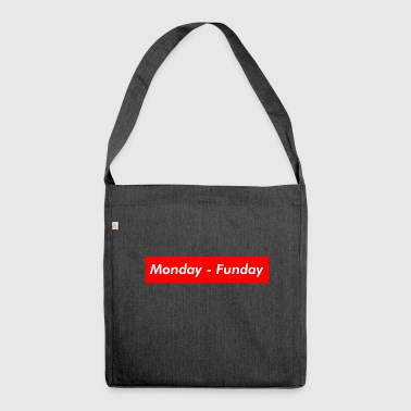 monday - Shoulder Bag made from recycled material