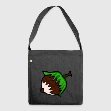 hazelnut hazelnut veggie vegetables fruits2 - Shoulder Bag made from recycled material