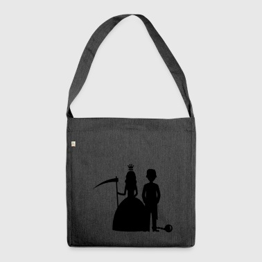 bride groom - Shoulder Bag made from recycled material
