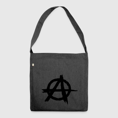 Anarchie punk anarchiste - Sac bandoulière 100 % recyclé