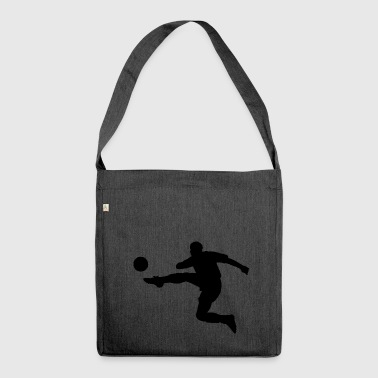 Football kicker - Shoulder Bag made from recycled material