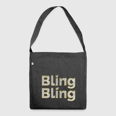 Bling Bling - Schultertasche aus Recycling-Material