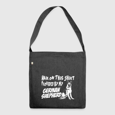 German Shepherd German shepherd dog - Shoulder Bag made from recycled material