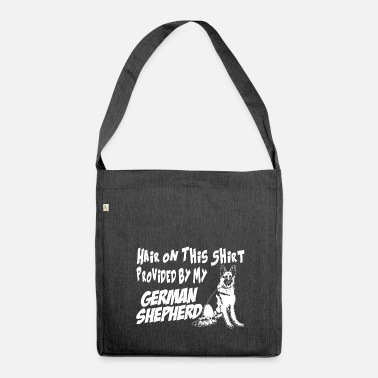 German German shepherd dog - Shoulder Bag made from recycled material