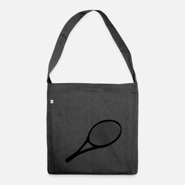 Tennis Racket tennis racket - Shoulder Bag made from recycled material