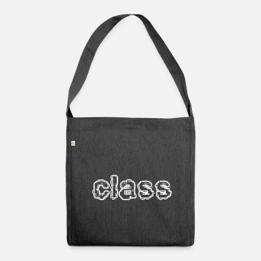 Class Class - Shoulder Bag recycled