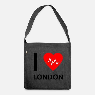 I Love London I Love London - I love London - Shoulder Bag made from recycled material