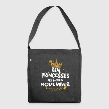 November - Shoulder Bag made from recycled material