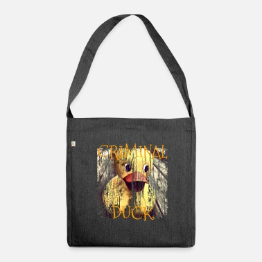 Criminal Criminal Duck Criminal Duck - Shoulder Bag made from recycled material