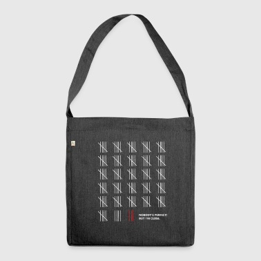 Counting - Shoulder Bag made from recycled material