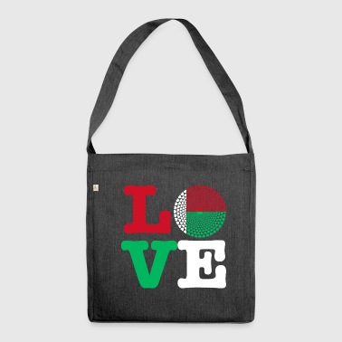 MADAGASCAR HEART - Shoulder Bag made from recycled material