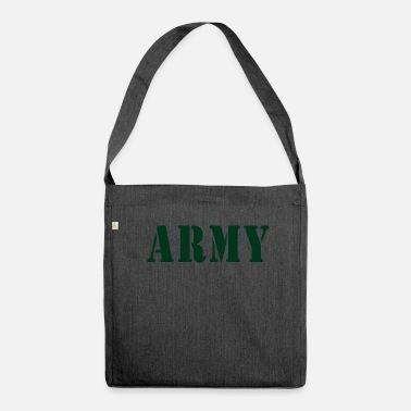 Army ARMY - Schultertasche aus Recycling-Material