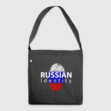 russian identity - Shoulder Bag made from recycled material