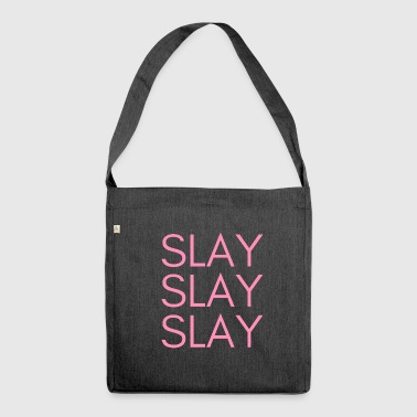 SLAY - Shoulder Bag made from recycled material