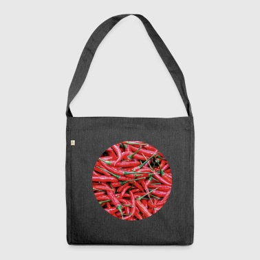 Chili - Schultertasche aus Recycling-Material