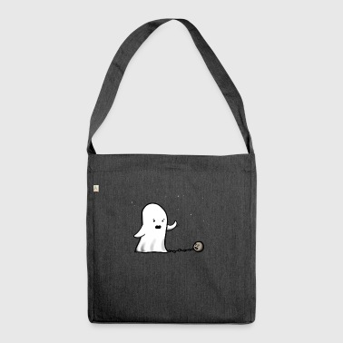 Ghost Ghost Ghost - Shoulder Bag made from recycled material