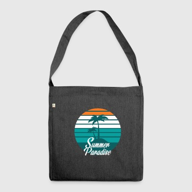 Caribbean paradise - Shoulder Bag made from recycled material