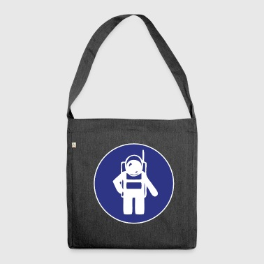 astronaut - Shoulder Bag made from recycled material