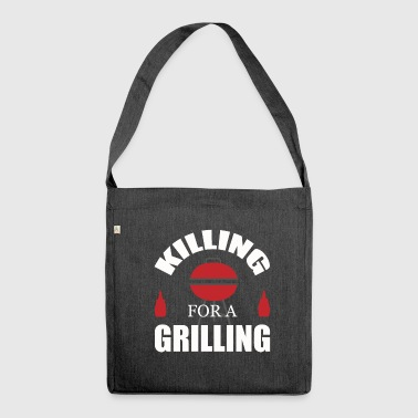 To grill - Shoulder Bag made from recycled material