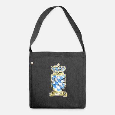 Railway Workers Royal Bavarian State Railways - Shoulder Bag made from recycled material