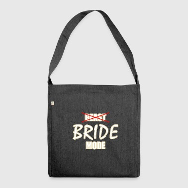 bridge mode - Shoulder Bag made from recycled material