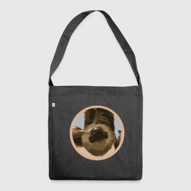 sloth - Shoulder Bag made from recycled material