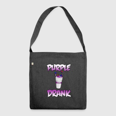 PURPLE DRANK LEAN PARTY CODE IN HUSTENSAFT GIFT - Shoulder Bag made from recycled material