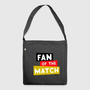 Fan of the match Germany - Shoulder Bag made from recycled material