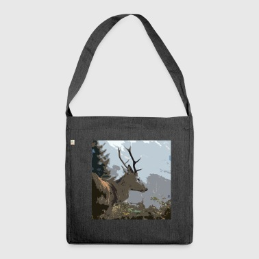 Stag - Shoulder Bag made from recycled material