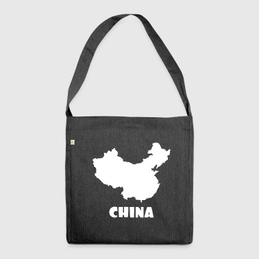 China - Schultertasche aus Recycling-Material