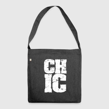 Chic - Schultertasche aus Recycling-Material